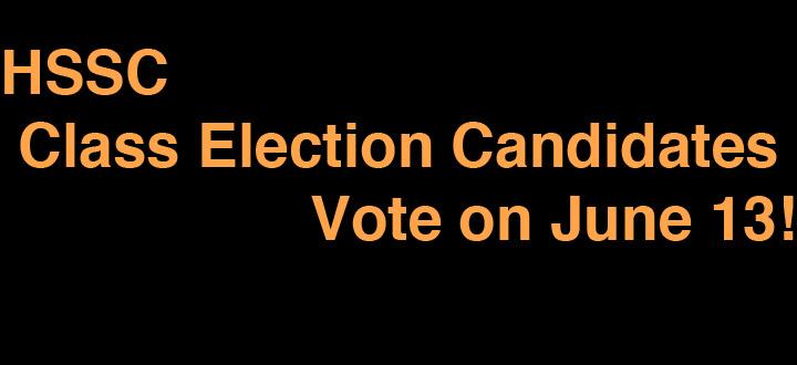 HSSC Class Election Candidates 2014