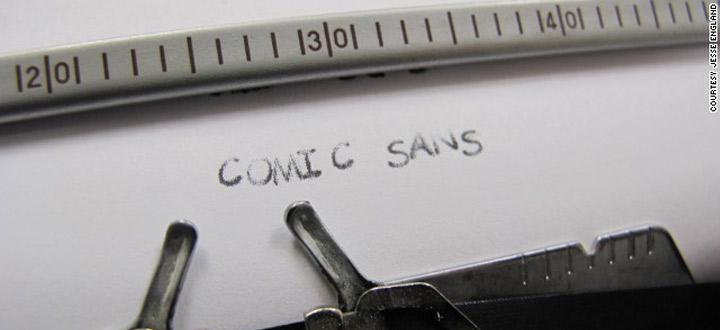 Comic Sans celebrates 20th anniversary