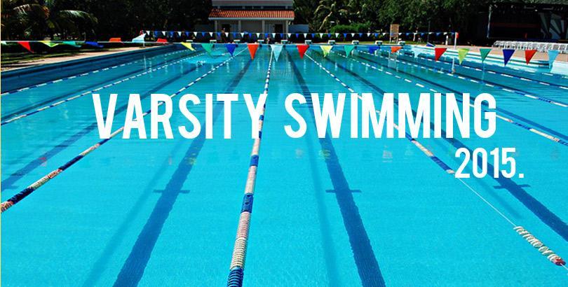 Meet your Varsity Swim Team 14-15!