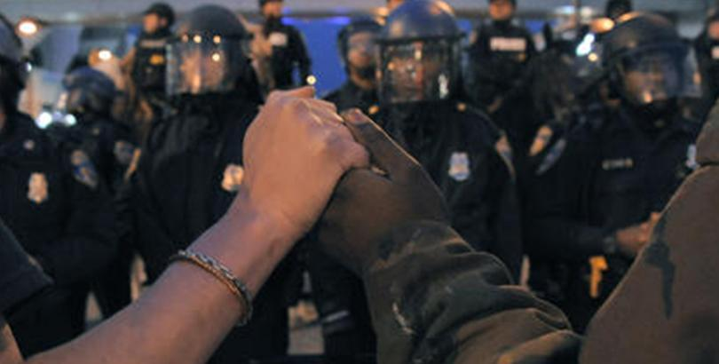 Protests in Baltimore said to be less violent than as portrayed in the media