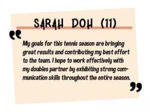 Sarah Doh