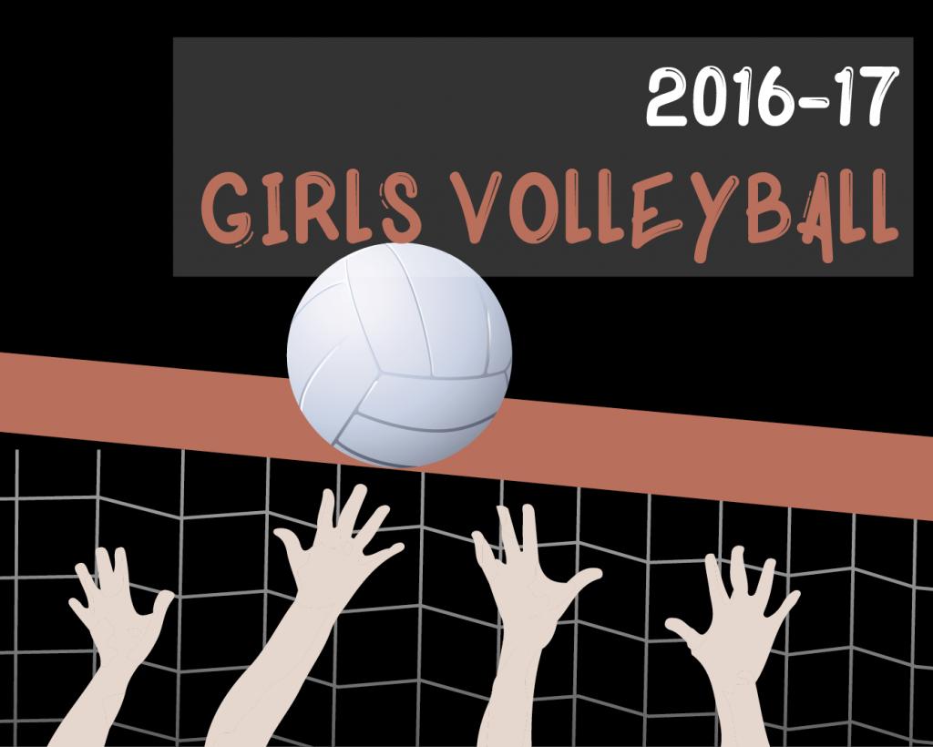 Meet Your Varsity Girls Volleyball Team 16-17