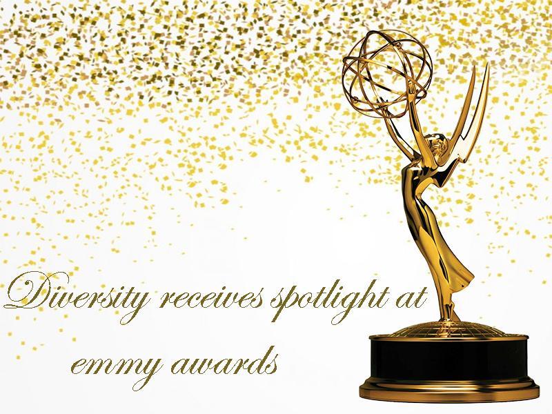 Diversity receives spotlight at the Emmy Awards