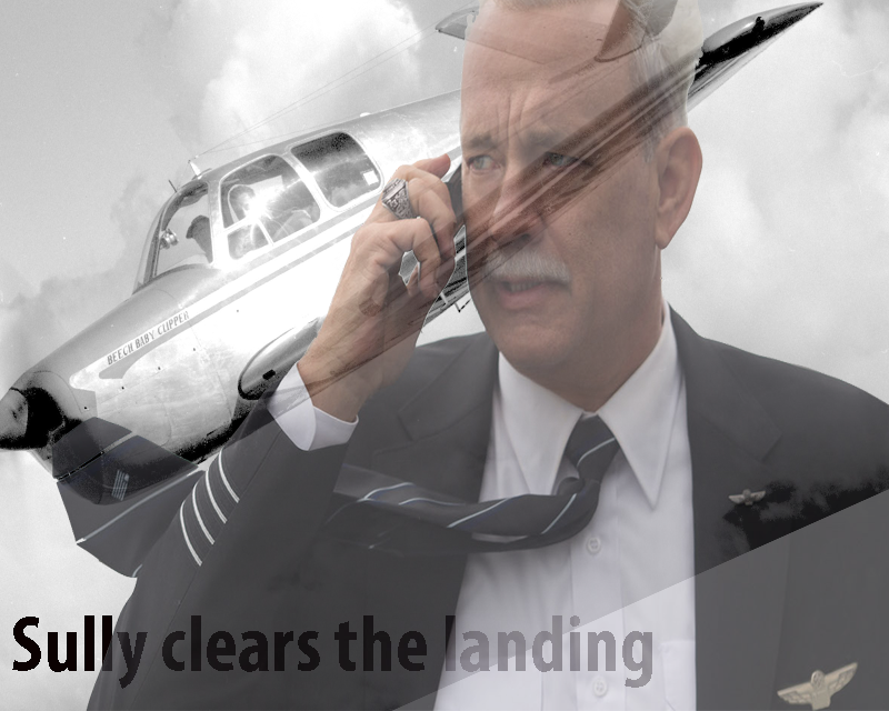 """""""Sully"""" clears for lift off"""