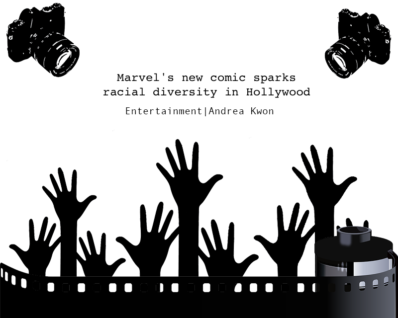 Marvels new comic sparks racial diversity in Hollywood