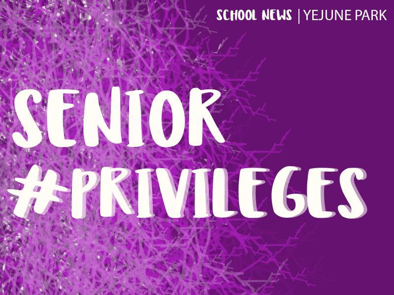 HSSC strives to improve senior privileges