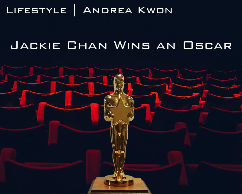 Jackie Chan finally wins an Oscar