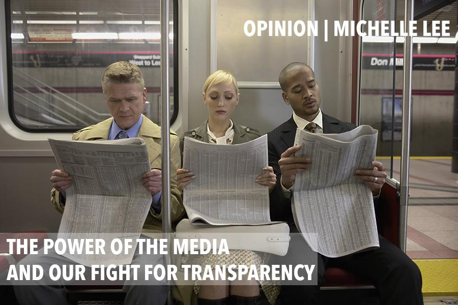 The power of the media and our fight for transparency