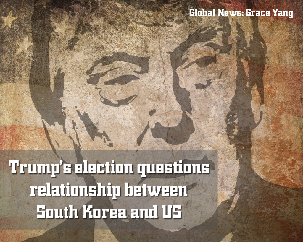 Trump's election questions relationship between South Korea and US