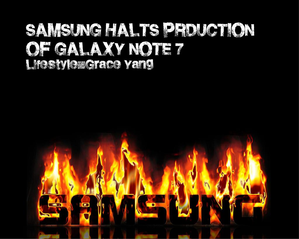 Samsung+halts+production+of+Galaxy+Note+7