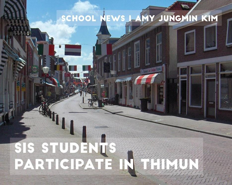SIS students participate in THIMUN