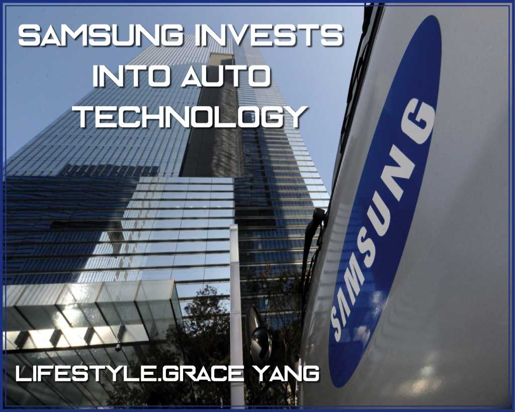 Samsung invests in auto-technology