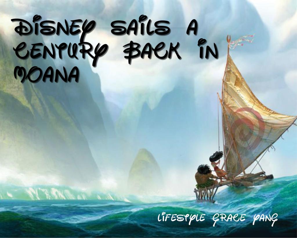 "Disney sails a century back in ""Moana"""