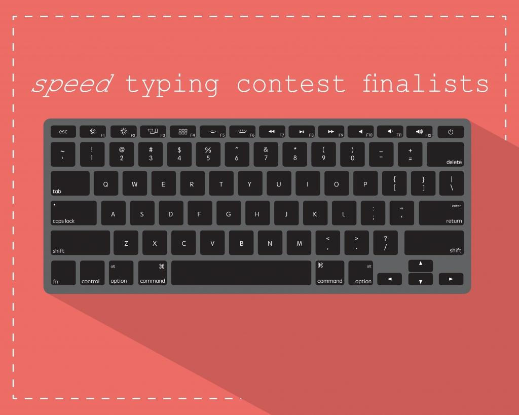 Typing Competition TOP SIX Finalists