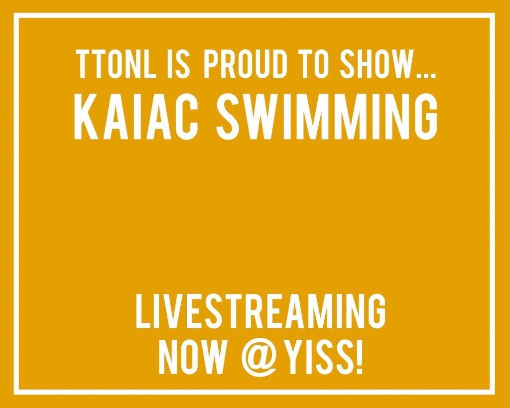 KAIAC Swimming: Watch now!