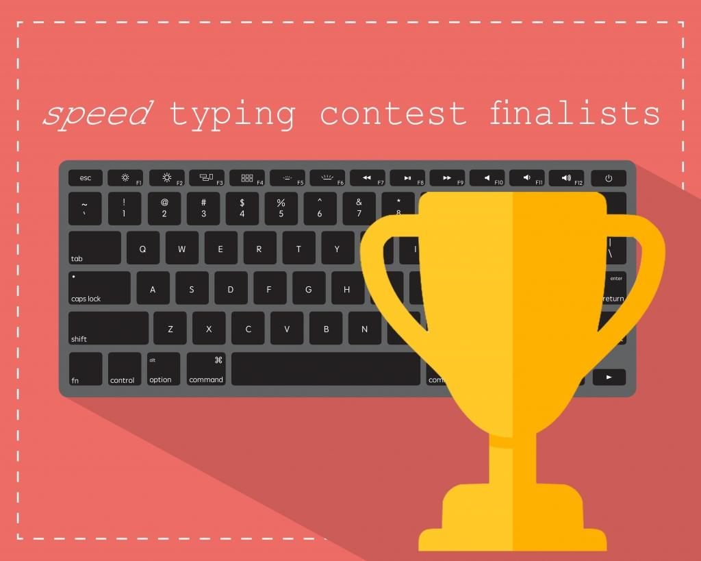 SIS Typing Contest: Congratulations!