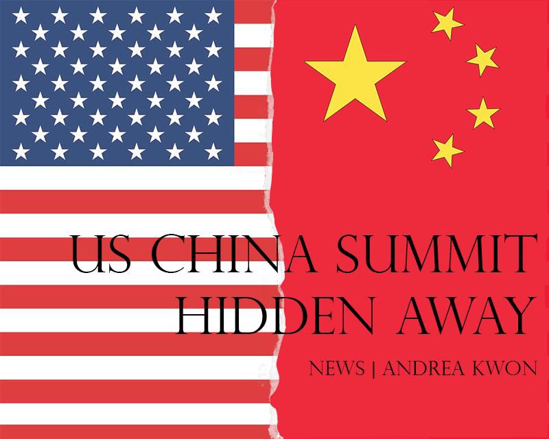 US-China summit hidden away