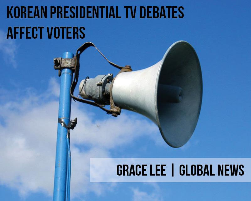 Korean Presidential TV Debates affect voters