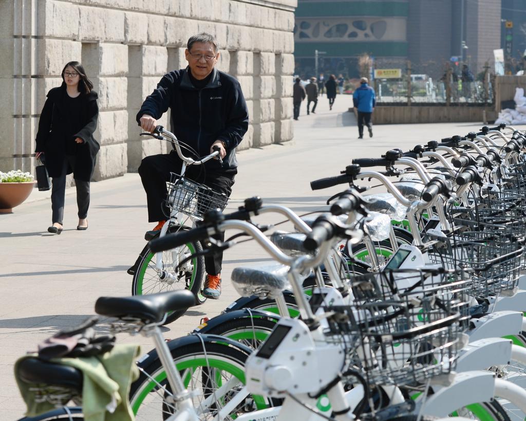 Ddareungi leads the eco-friendly revolution in Seoul