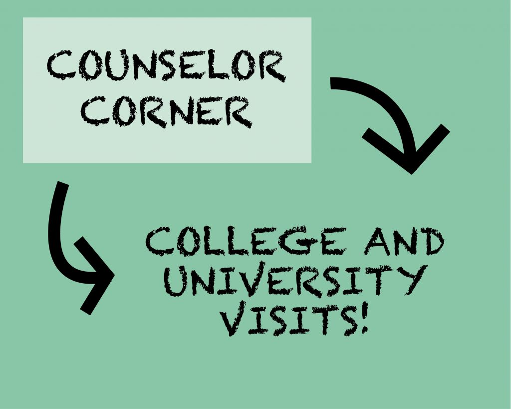 Counselor Corner: College Visits