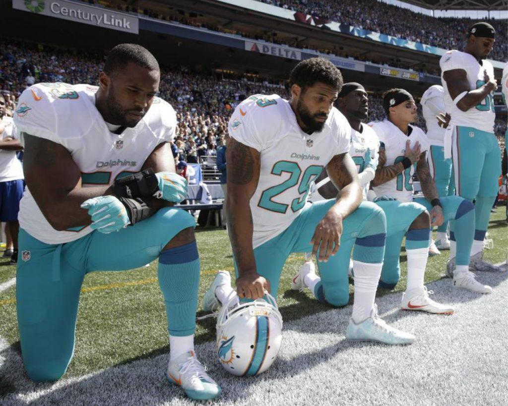President Trump criticizes NFL player's protests