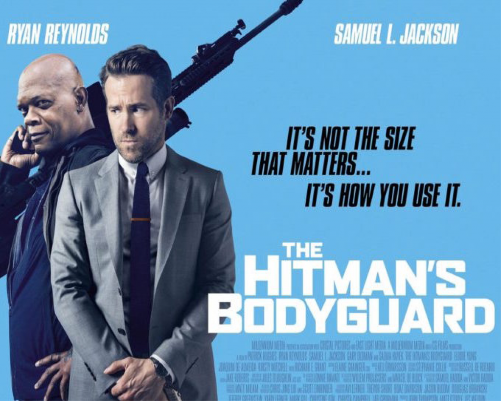 """Movie Review: """"The Hitman's Bodyguard"""""""