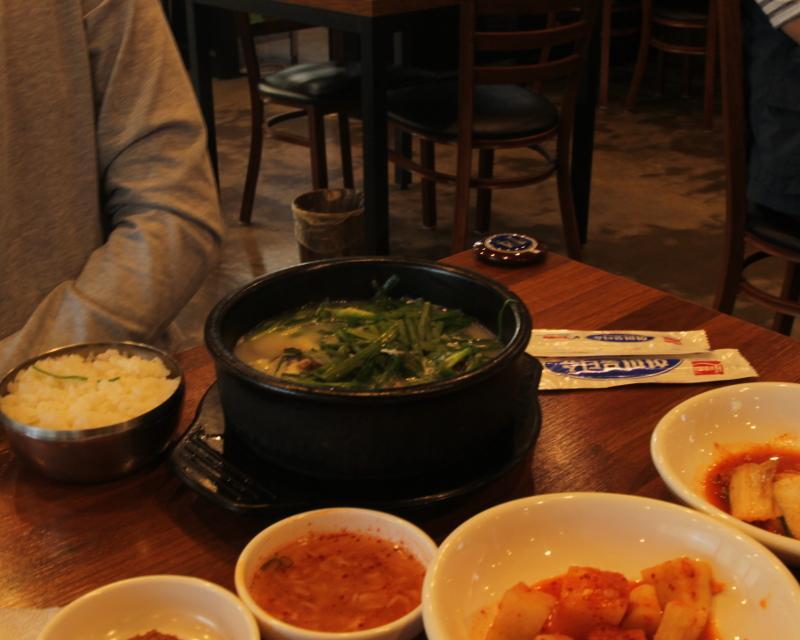 New sundaeguk restaurant near SIS