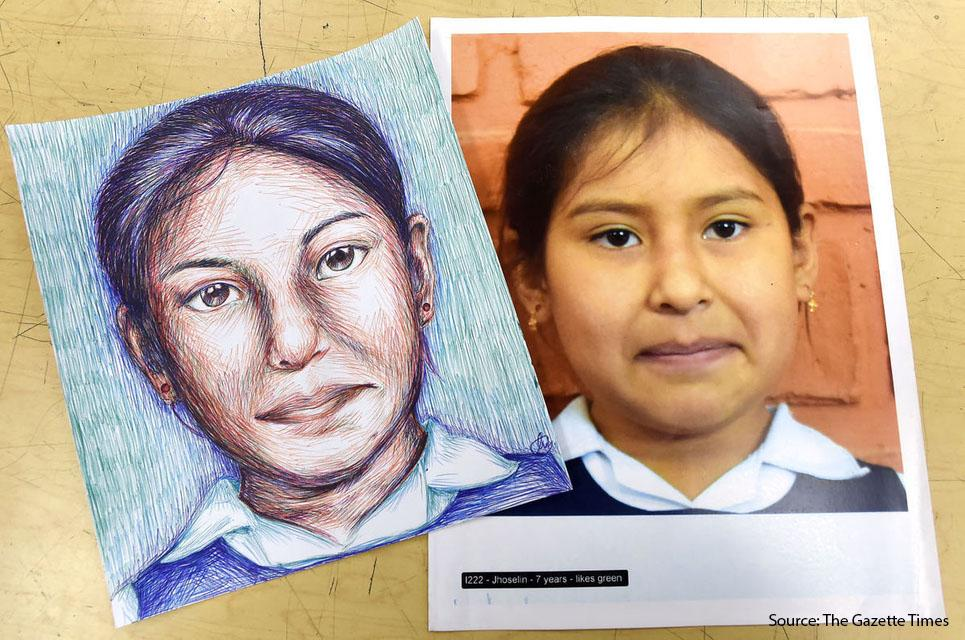 SIS art department participates in Memory Project