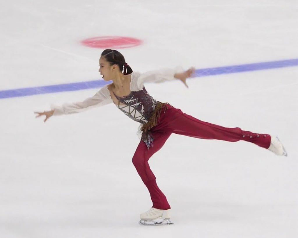 You eclipses Kim Yu-na's skating record