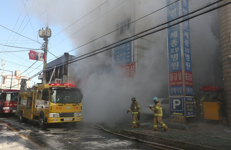 Lack of safety measures initiates chain of fires in Korea