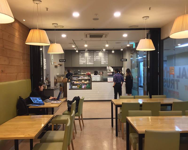 New School Café Opens