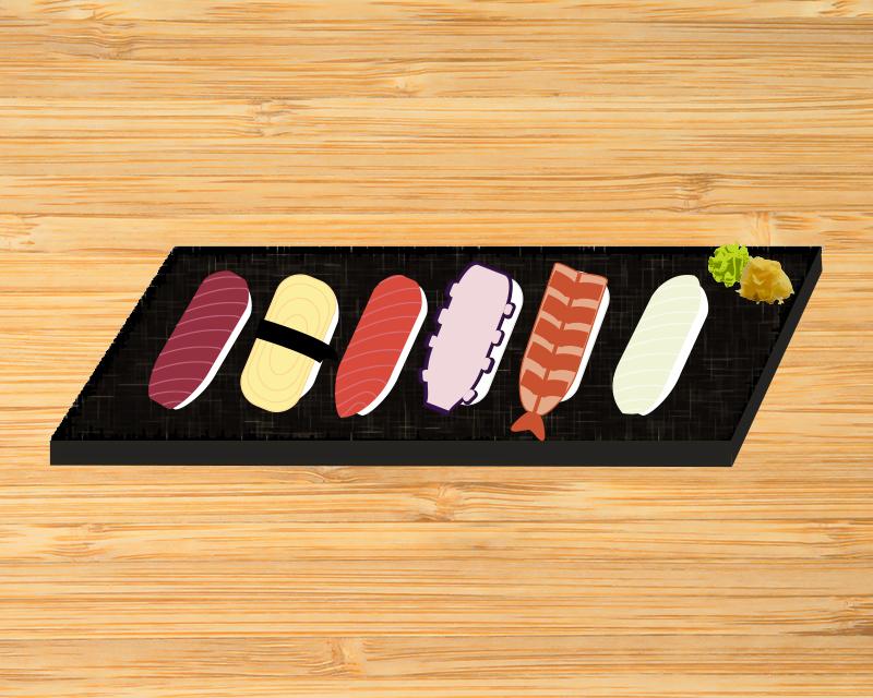 A place for sushi lovers, Eunhaeng-gol