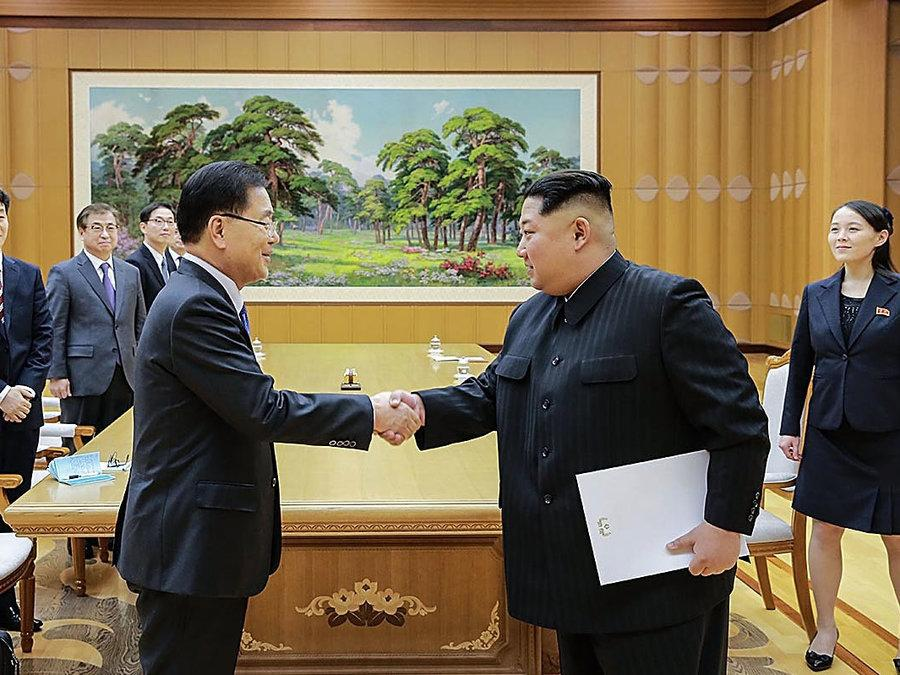 Inter-Korean dialogue spurs hope for denuclearization