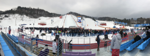 Edward in PyeongChang: Working behind the scenes