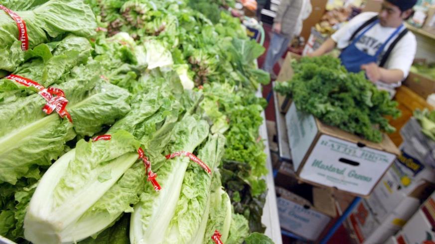 Romaine lettuce responsible for multistate E. Coli outbreak