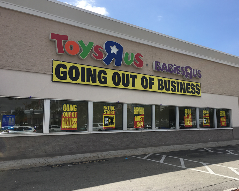 """Toys """"R"""" Us to close down after years in debt"""