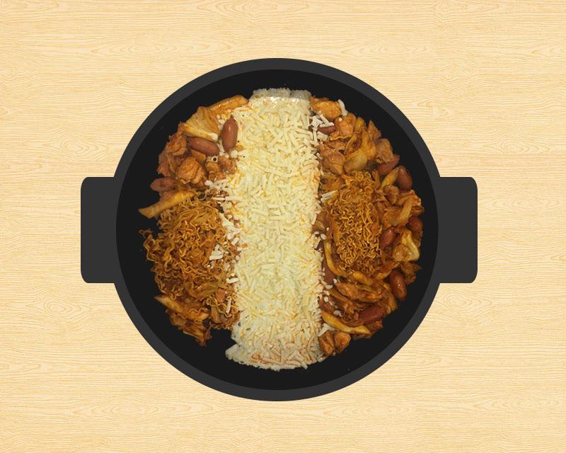 Enjoy the spice and savor of dakgalbi at Jangin