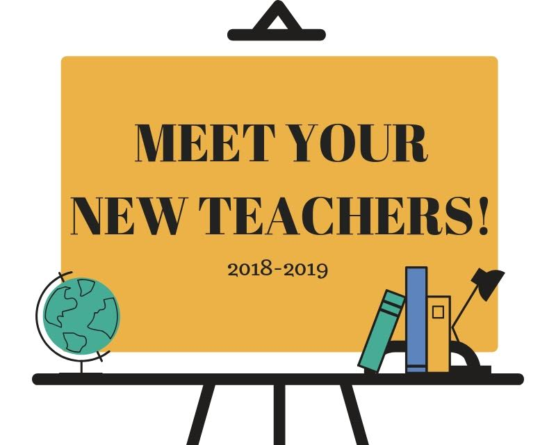 Meet Your New Teachers
