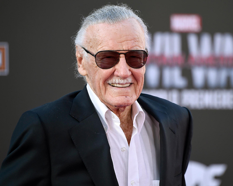 Stan Lee, superhero of Marvel Comics, dies at age 95