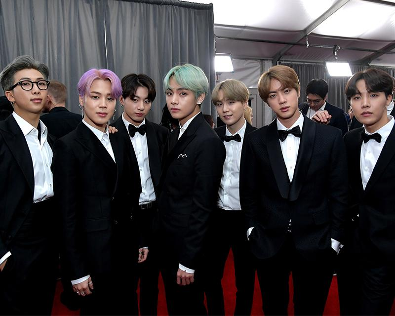 BTS makes history with awards debut