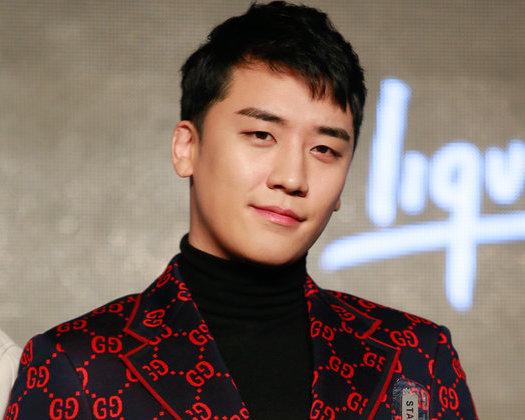 HONG KONG, HONG KONG - JANUARY 31:  Singer Seung-Ri of Big Bang attends a news conference after Chinese internet giant Tencent and Sony Music Entertainment signing distribution partnership on January 31, 2018 in Hong Kong, Hong Kong.  (Photo by VCG/VCG via Getty Images)