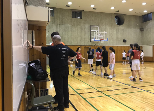 SIS athletes prepare for winter sports season in tryouts