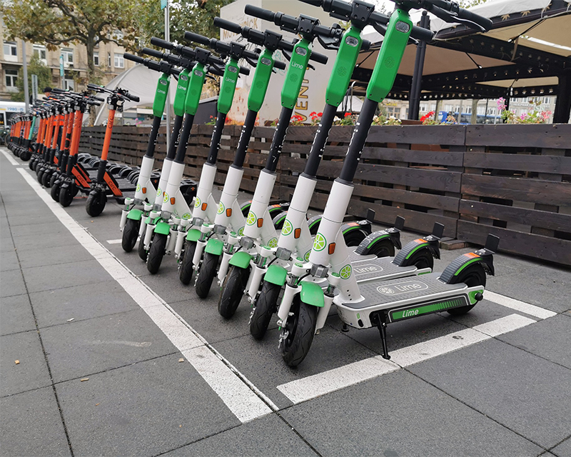 Personal mobility rises with electric scooter apps