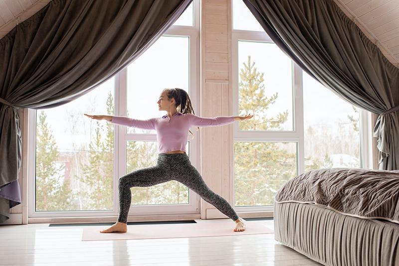 Home fitness rises in popularity during coronavirus outbreak