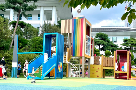 Picture of the renovated playground