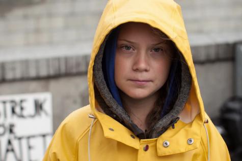 Greta Thunberg urges climate action